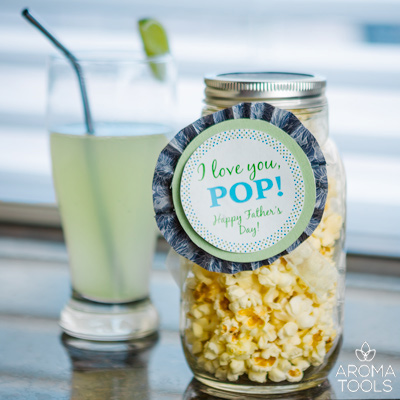 Popcorn & Soda for Pops