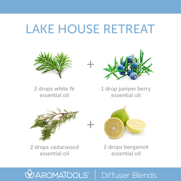 Lake House Retreat Diffuser Blend For The Office
